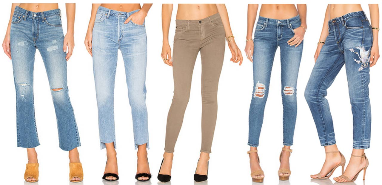 Types Of Jeans For Womens - Jeans Am