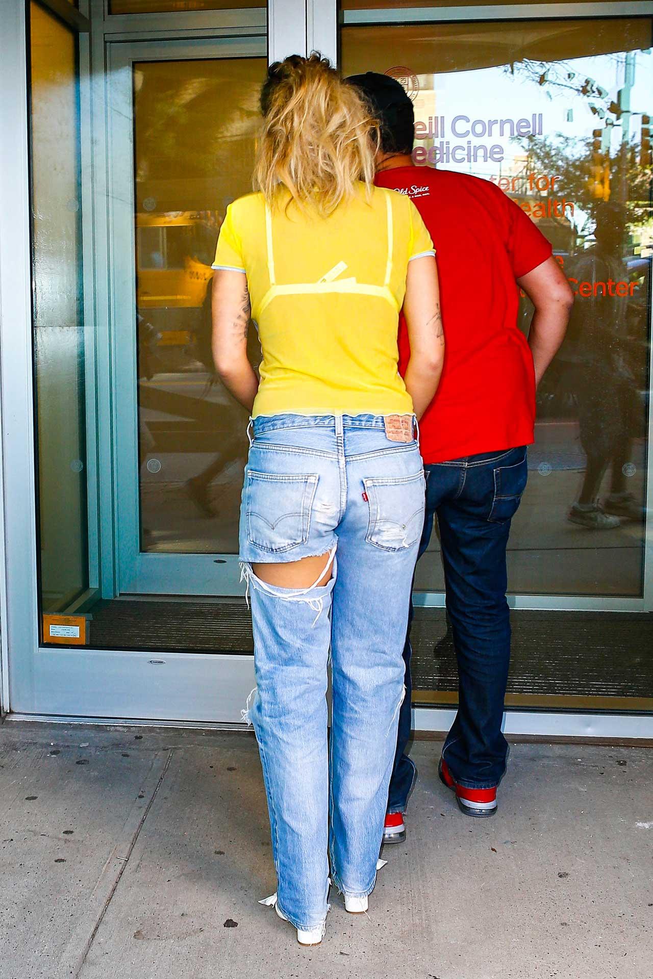 Rita Ora Wears Ripped ... Hilary Duff Fan