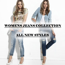 Womens Jeans Collection - All New Styles
