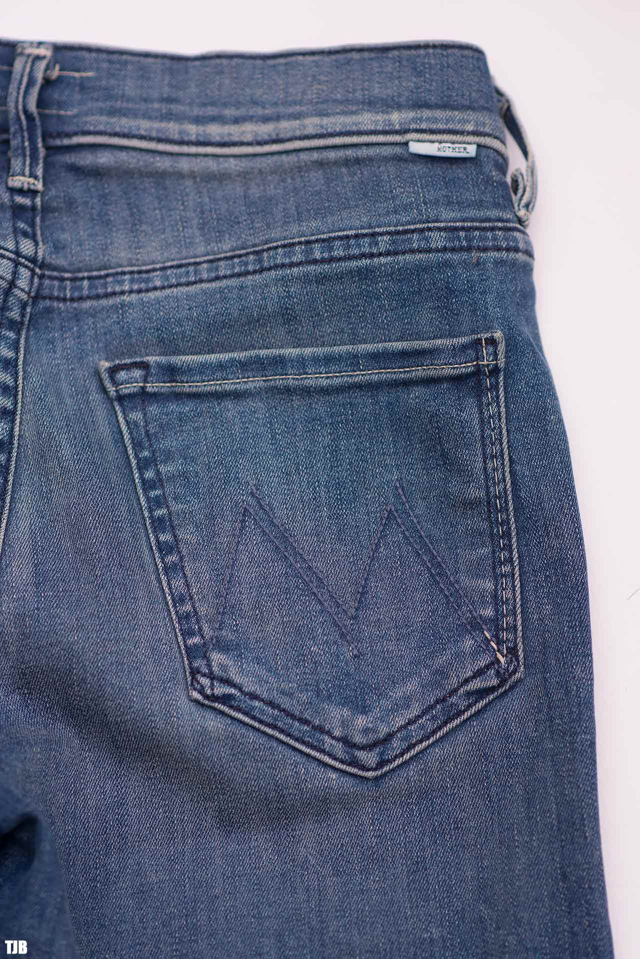 MOTHER The Stunner Zip Ankle Step Fray Jeans In Good Girls Do Review 4