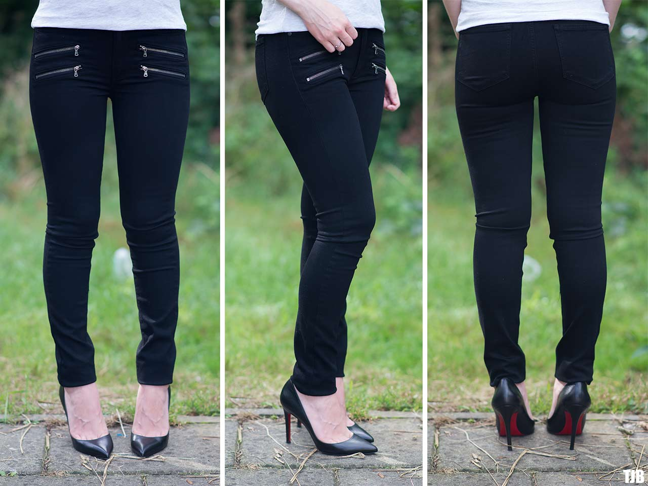 Paige high rise edgemont jeans in black shadow review for The edgemont