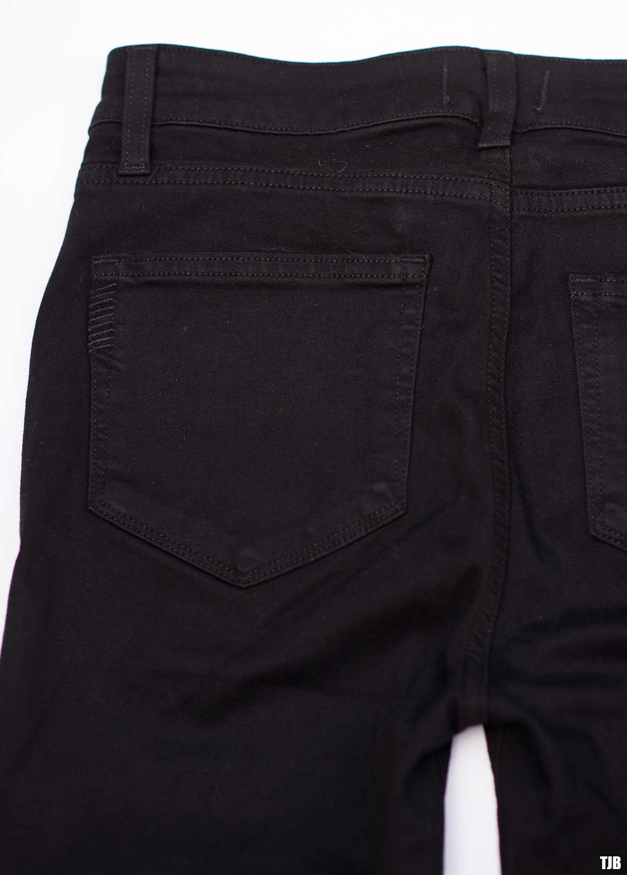 PAIGE High Rise Edgemont Jeans in Black Shadow Review 6