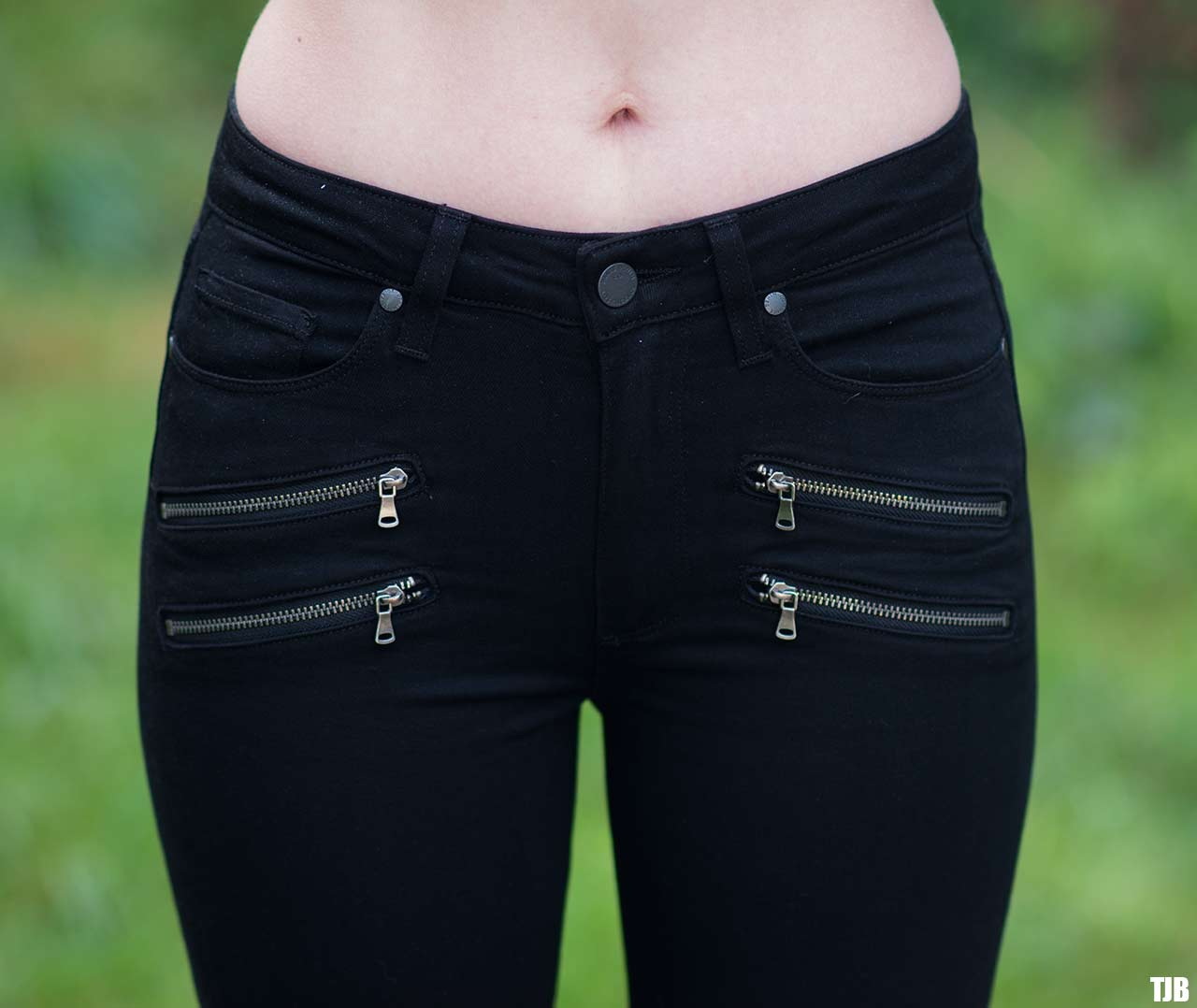 PAIGE High Rise Edgemont Jeans in Black Shadow Review 9