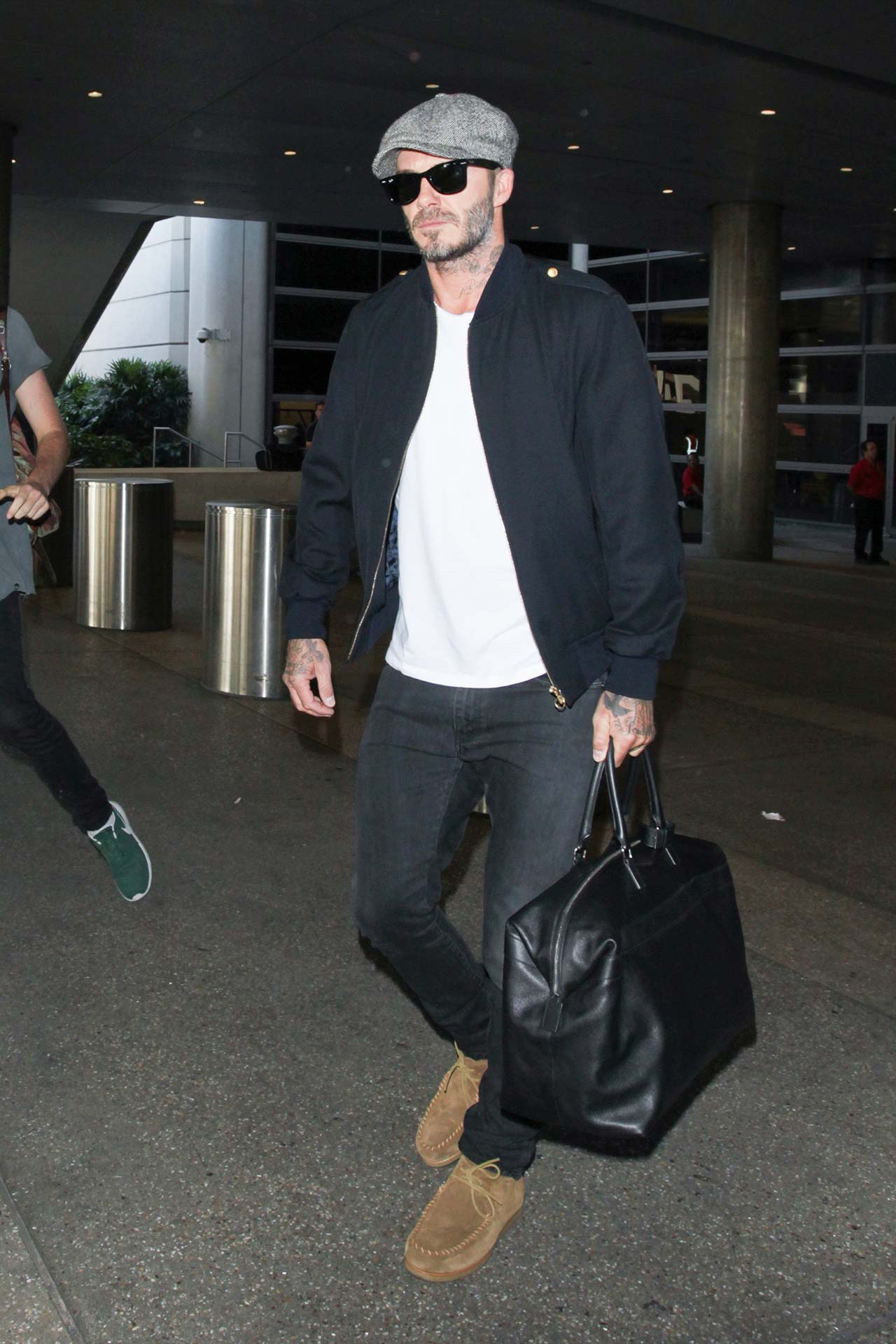 David Beckham Wears Saint Laurent Jeans The Jeans Blog