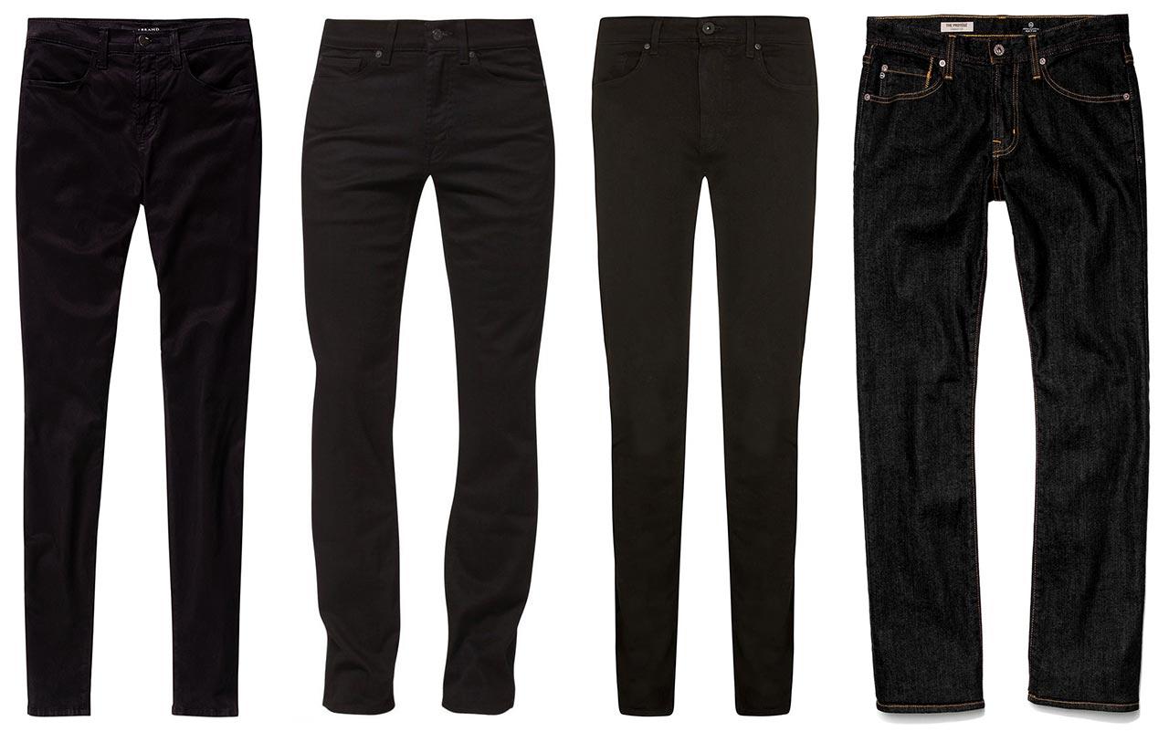 black-jeans-for-men-versatile-denim