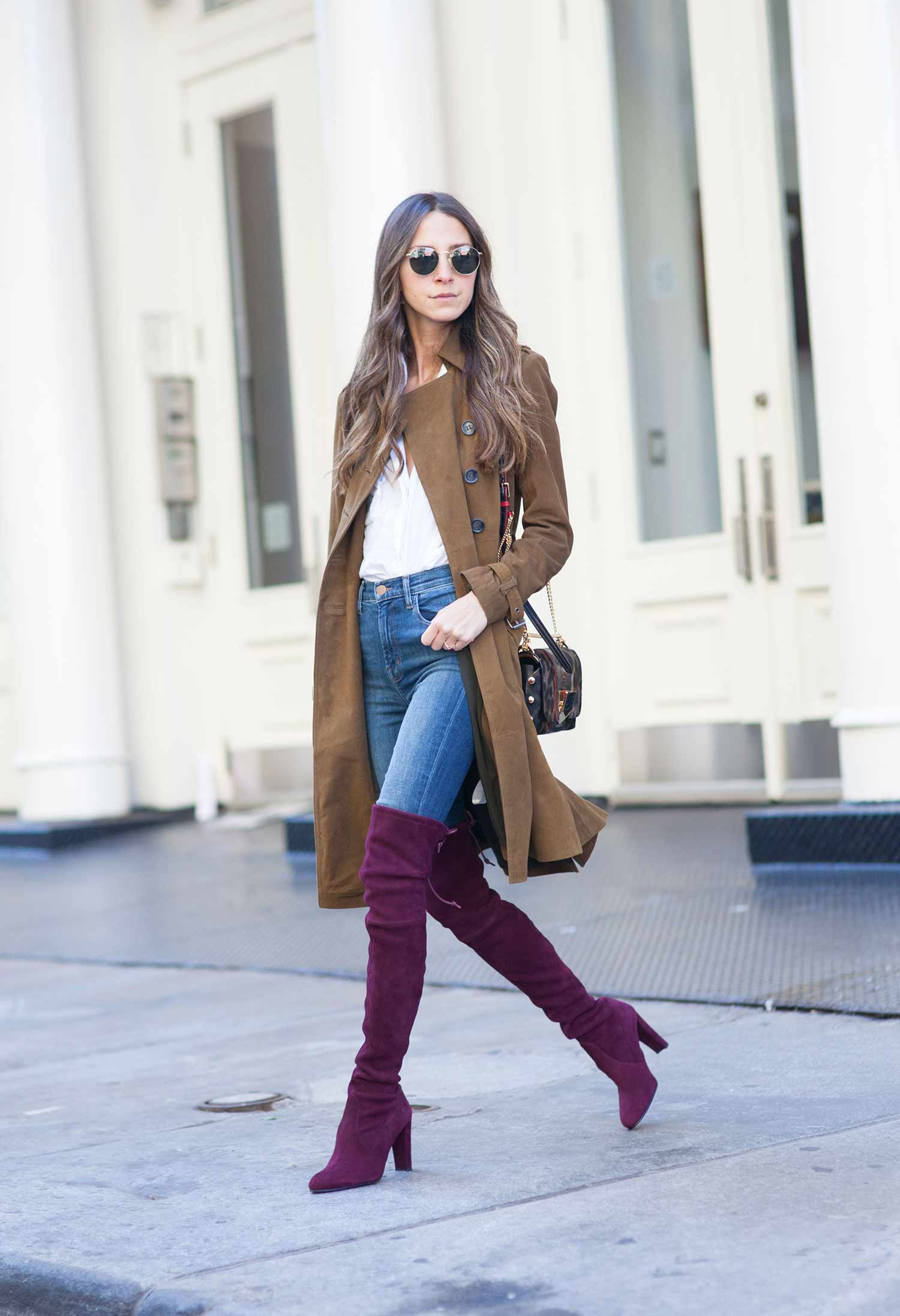 how to wear jeans with tall boots the jeans blog