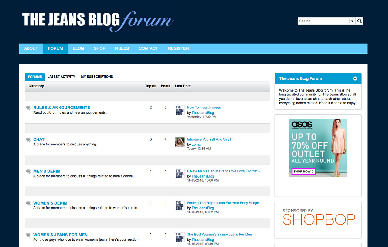 the-jeans-blog-forum