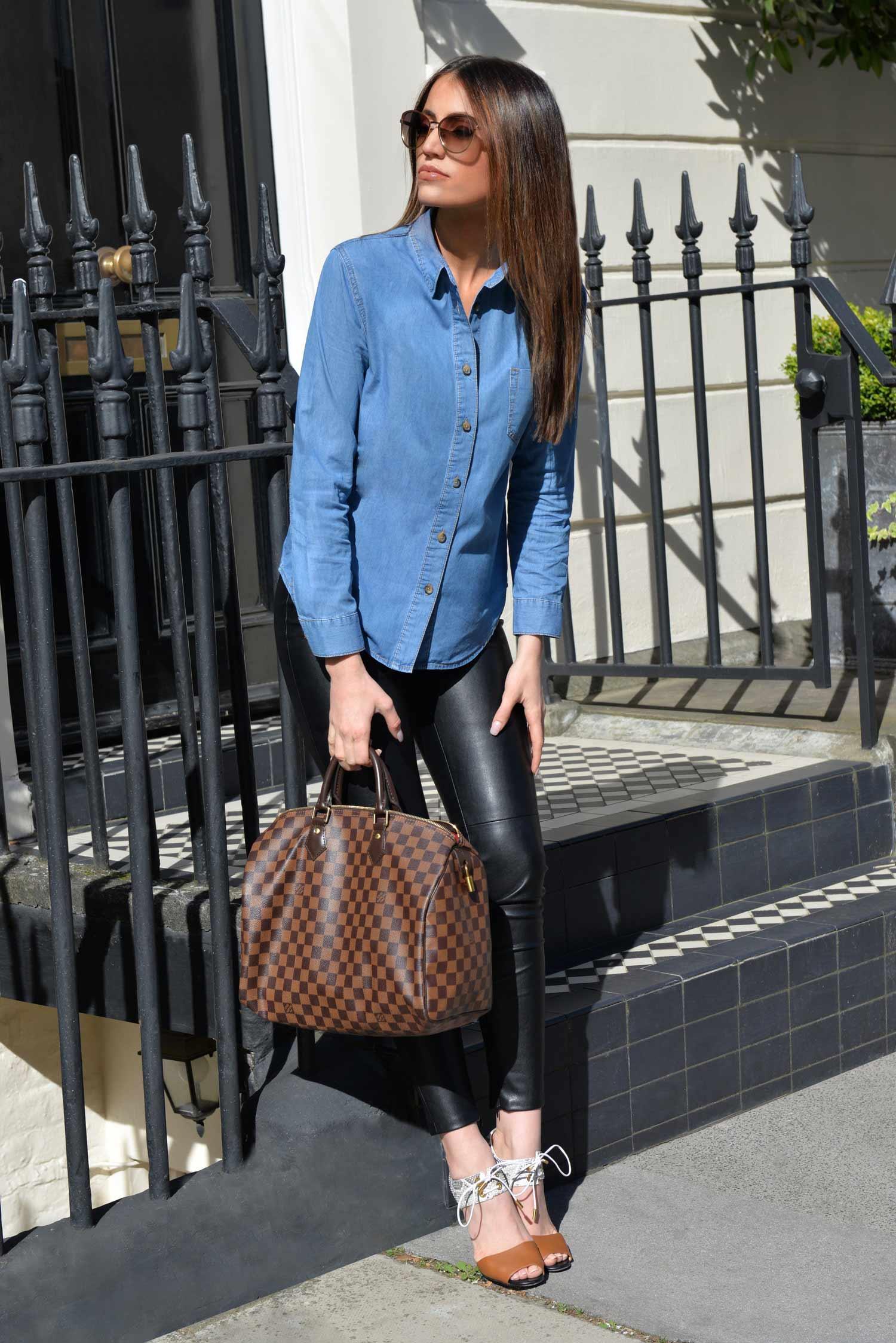 denim-shirt-leather-pants-2