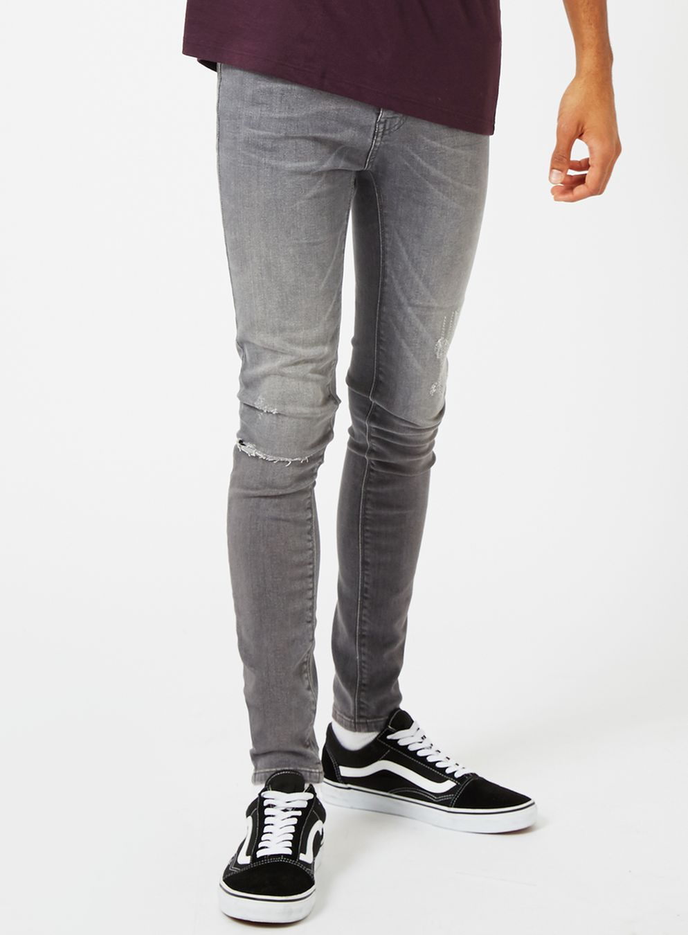 topman-grey-ripped-spray-on-jeans