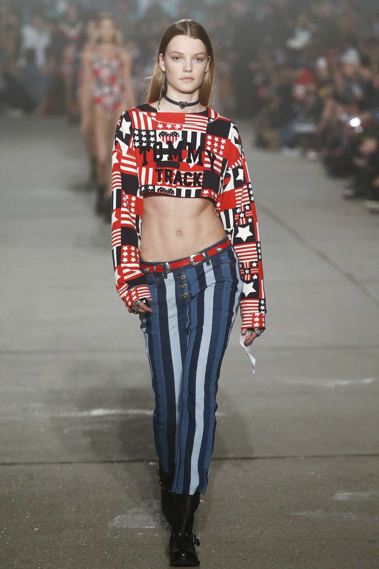 Hilfiger tommy spring runway review catalog photo