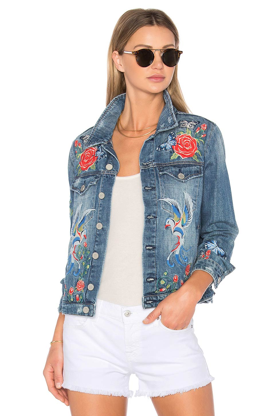 Find of the week blank nyc embroidered denim jacket