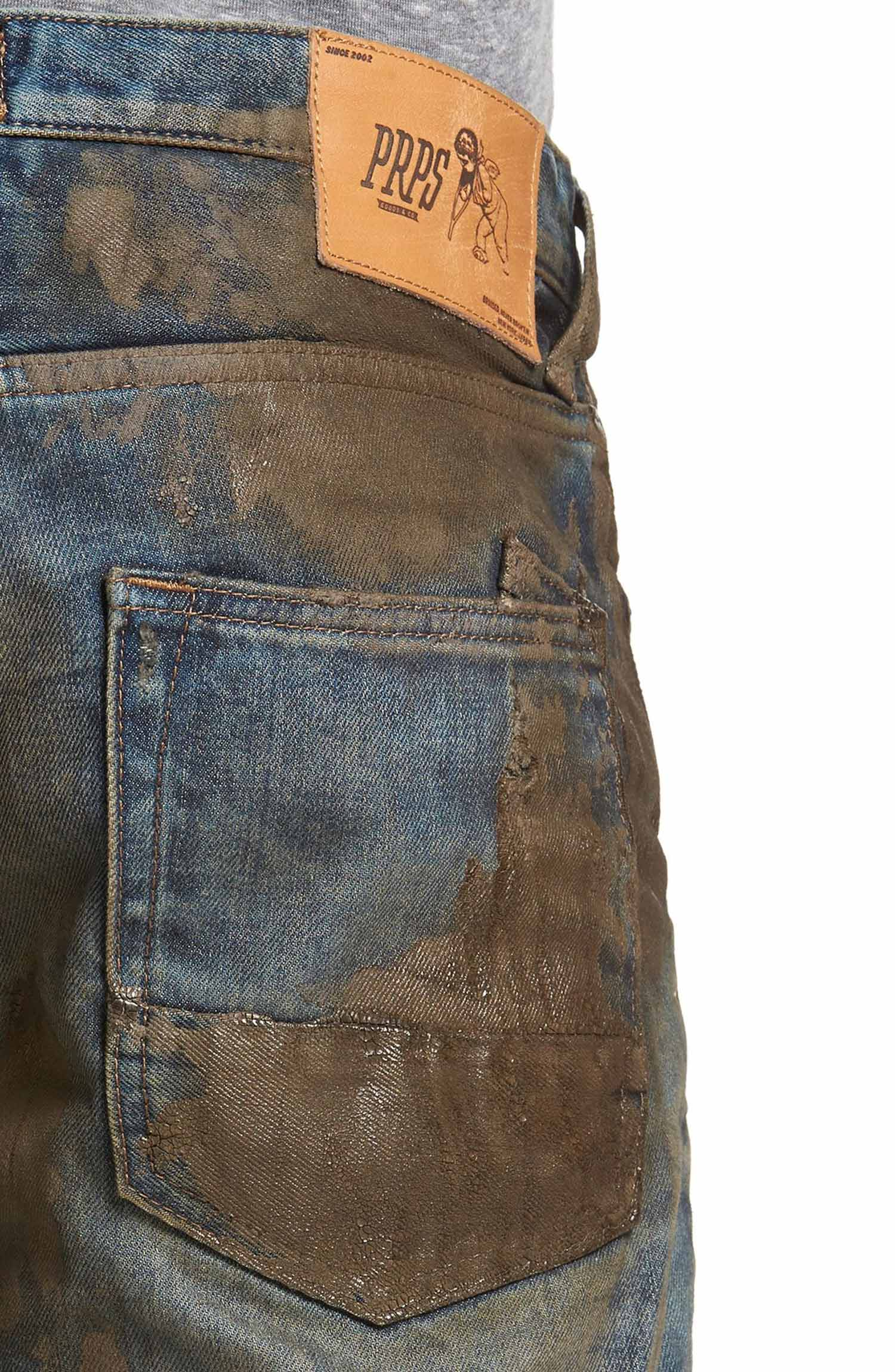 Get down and dirty' in Nordstrom's mud-caked jeans at 'only' $425