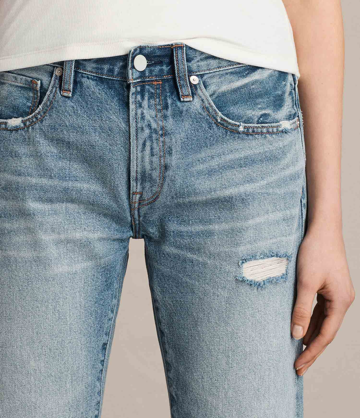 0fd7fc88546 Red Carpet Fashion Awards Jeans All Week  Find Of The Week  ALLSAINTS Muse  Slim Destroy Jeans