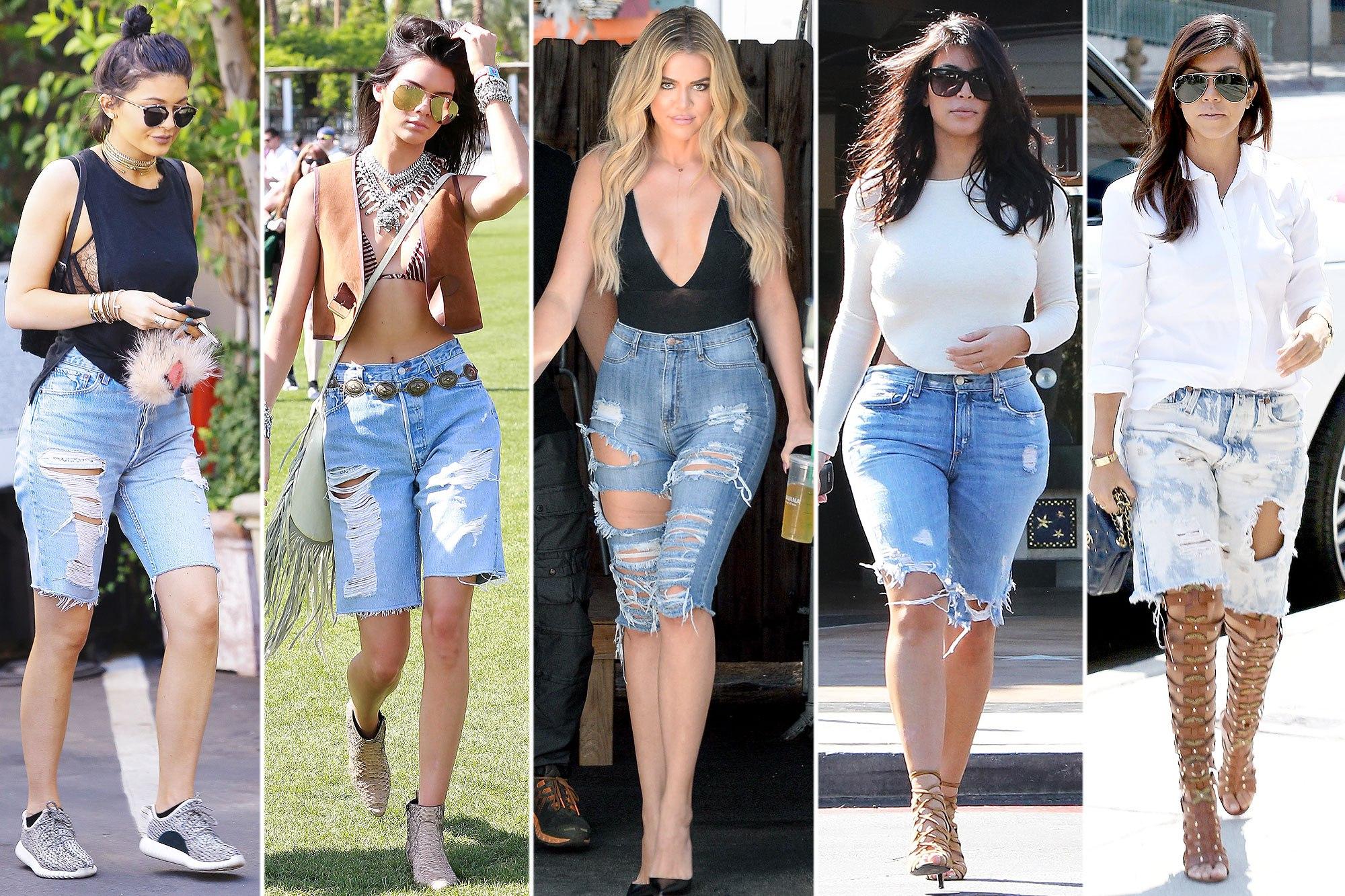 The Bermuda Knee Length Denim Shorts Trend