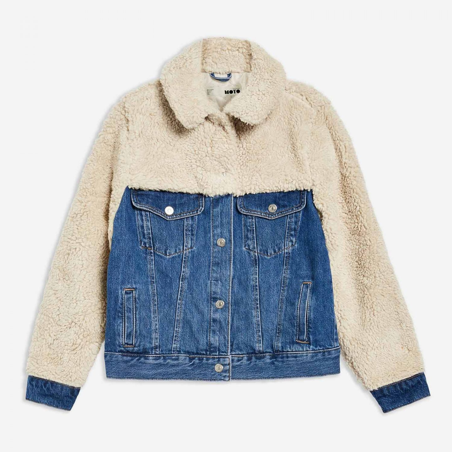 The Topshop Denim Borg Jacket Everyone Is Talking About